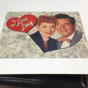 Other - Metal I Love Lucy Sign